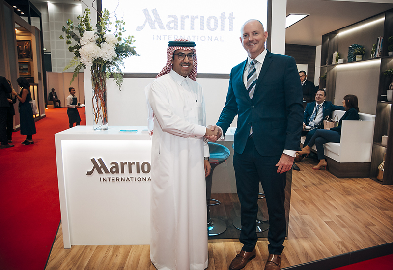 Marriott and Al Tayyar Travel Group sign agreement