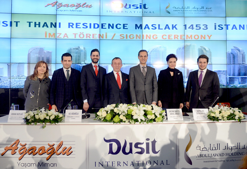 Dusit signs residences project in Istanbul, Turkey