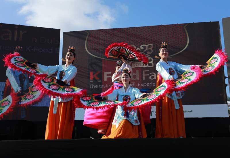 'Overwhelming' response to South Korean food fair