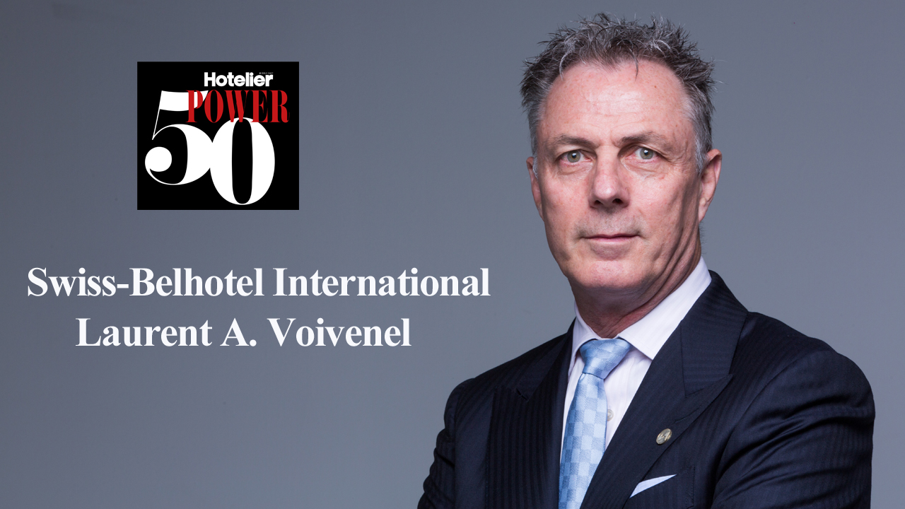 Hotelier Middle East Power 50 2018: Swiss-Belhotel SVP on the challenge of opening 10 new hotels