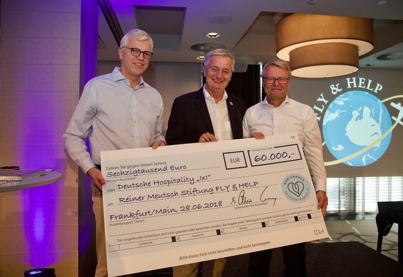 Deutsche Hospitality donates funds to help school construction in Nigeria
