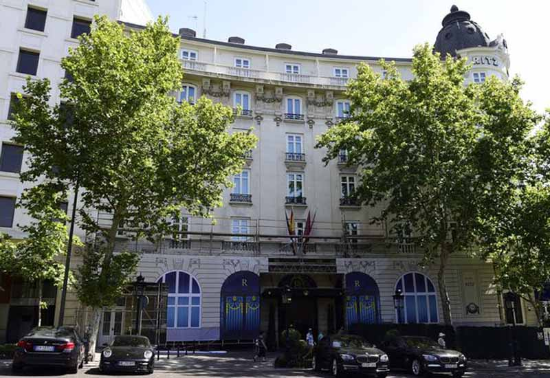 PHOTOS: Hotel Ritz building in Madrid