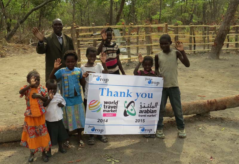 ATM exhibitors raise US $30K for African water aid