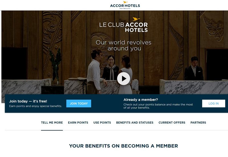 AccorHotels combines Fairmont, Raffles and Swissotel loyalty programmes