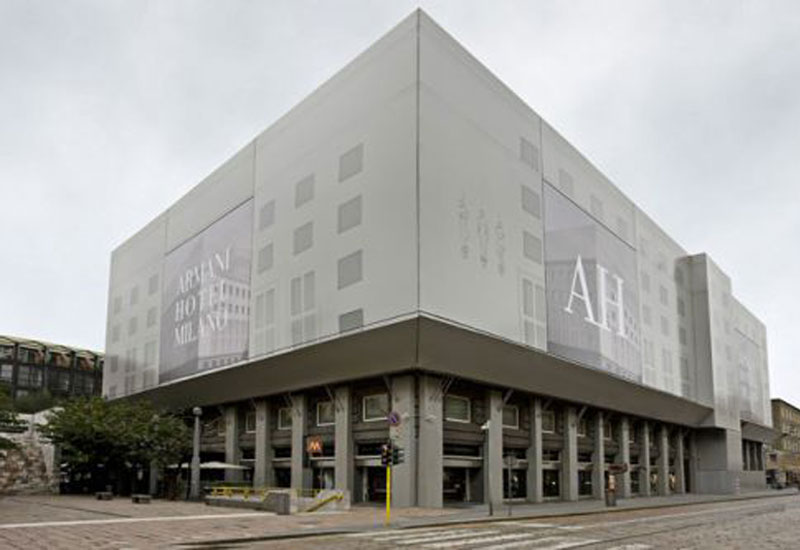 Armani Hotel Milano to open in November