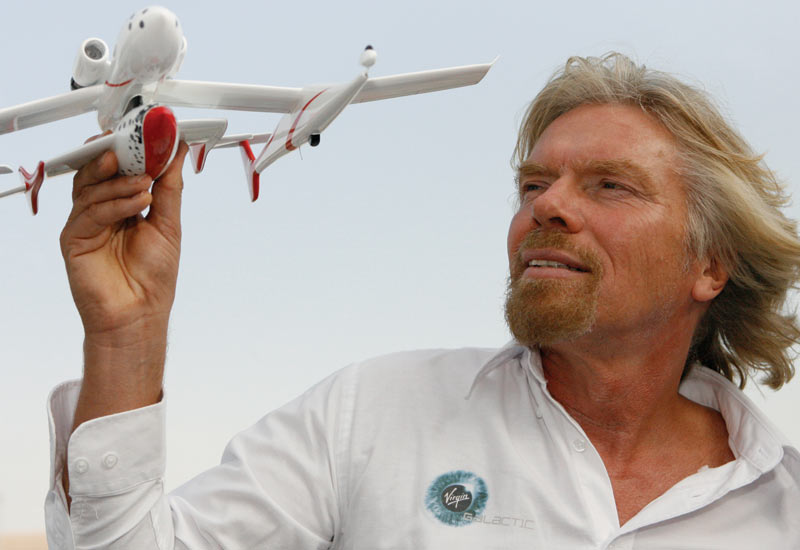 Abu Dhabi company takes stake in Virgin Galactic