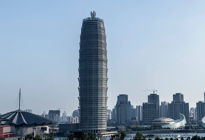 Hotel in 280-metre tower in China for Marriott