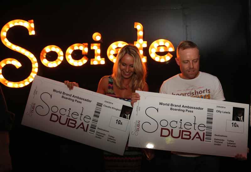 Societe Dubai picks World Brand Ambassadors