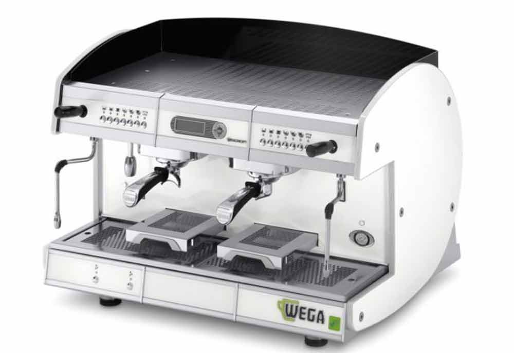 Wega energy-saving espresso machines at Gulfood