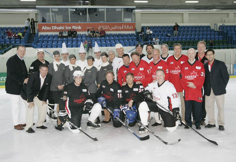 PHOTOS: Fairmont Vs Etihad in hockey showdown