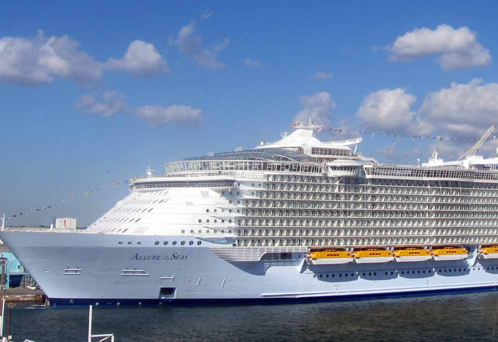 Man missing after going overboard biggest cruise