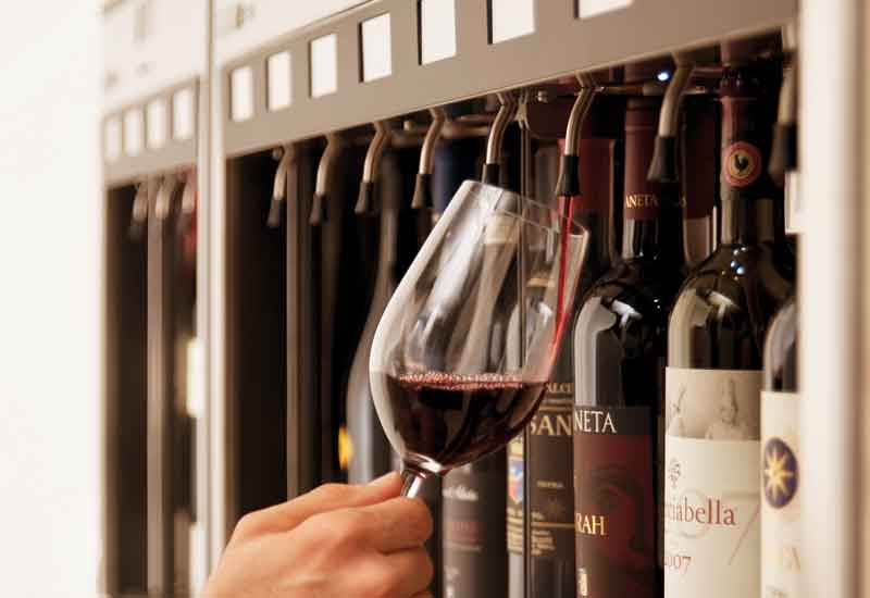 MidEast market 'difficult' says wine dispensing co