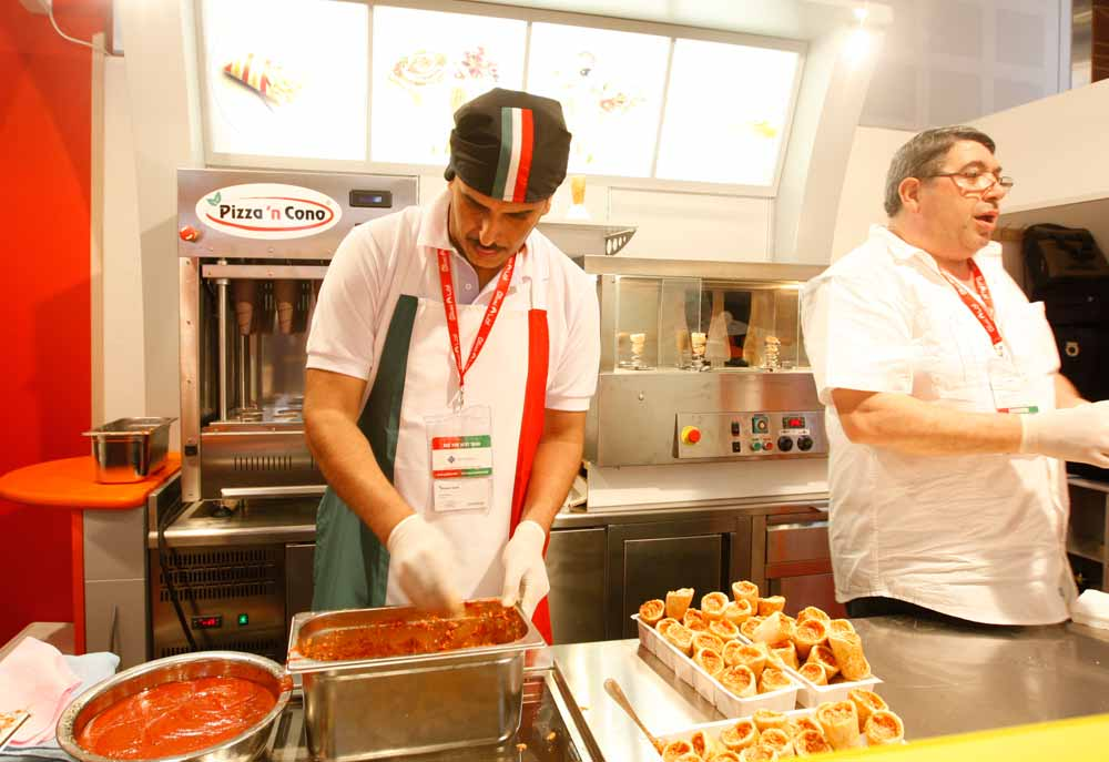 Italian firm set to expand ice cream pizza concept