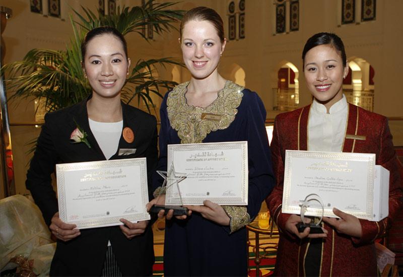 Burj Al Arab receptionist takes home AICR award