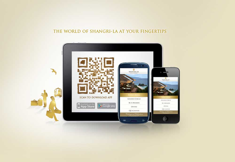 Shangri-La releases mobile application for Android