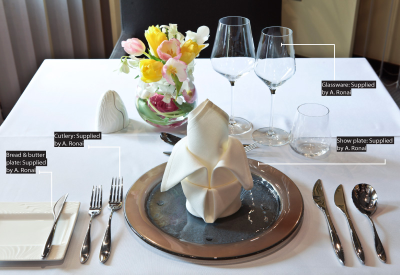 Table Setting 101 People Hotelier Middle East
