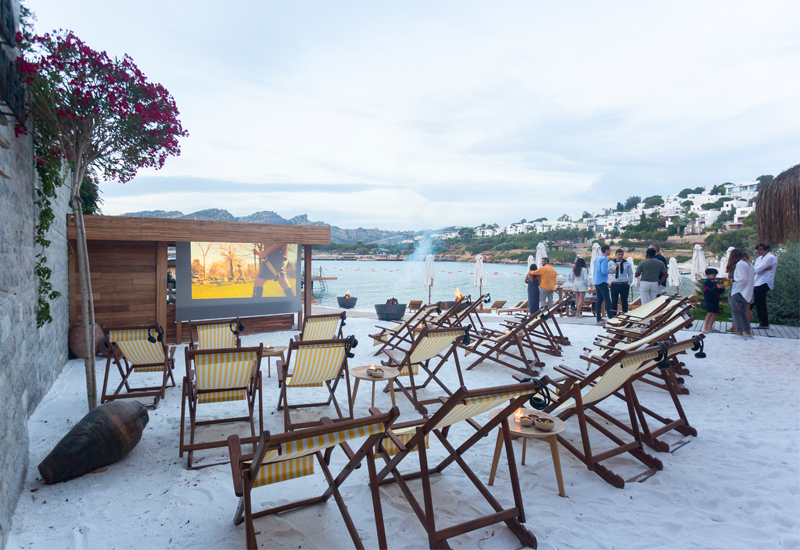 Bodrum Edition teams up with MUBI to create cinema on the beach