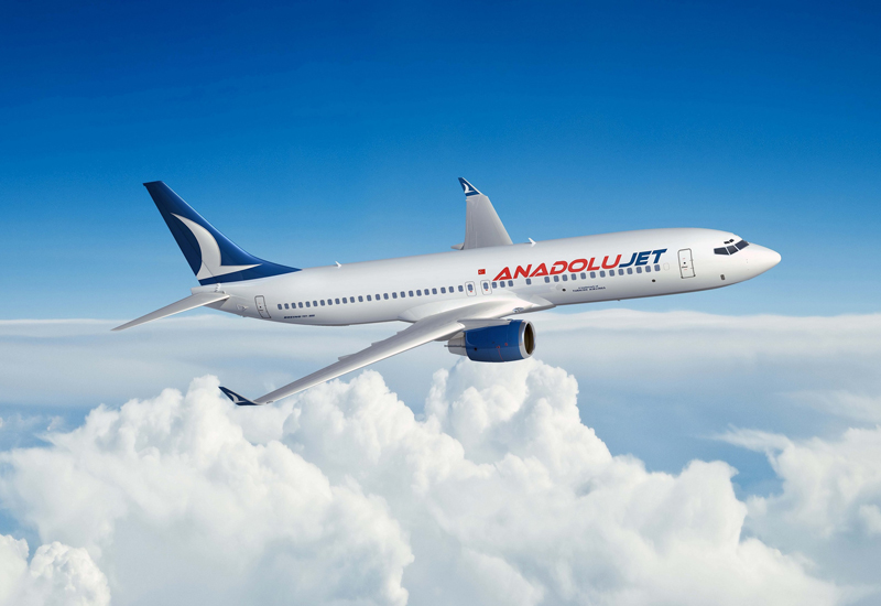 AnadoluJet to operate 10 weekly Dubai flights