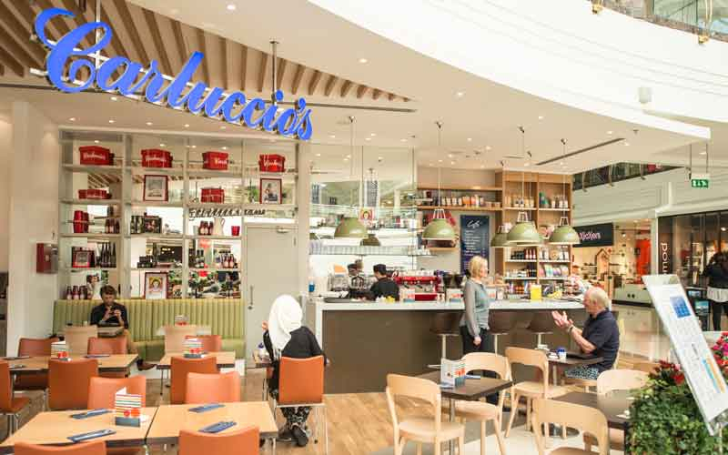 Carluccio's Middle East will remain operational despite UK troubles
