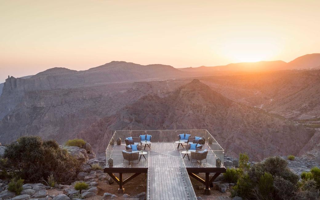 Five things you didn't know about Oman's Anantara Al Jabal Al Akdhar Resort