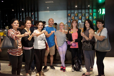 PHOTOS: Pullman Dubai global wellness coach hosts yoga series