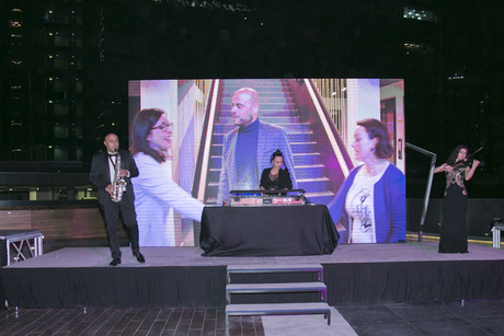 PHOTOS: New Radisson Blu Dubai Waterfront hotel hosts group's ATM party