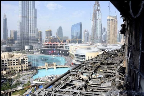 First restaurant reopens after NYE fire in Dubai