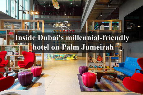 Inside Dubai's millennial-friendly hotel on Palm Jumeirah