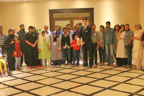 Dubai's Arjaan by Rotana hosts iftar for special needs students