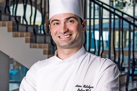New Recruit: Cucina Dubai's Artyom Hakobyan