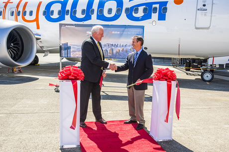 flydubai takes delivery of first Boeing 737 MAX 8