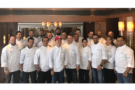 Alfredo Russo joins Dubai's top chefs for a culinary experience