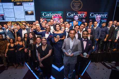 Winners at the Caterer Middle East Awards 2018 crowned
