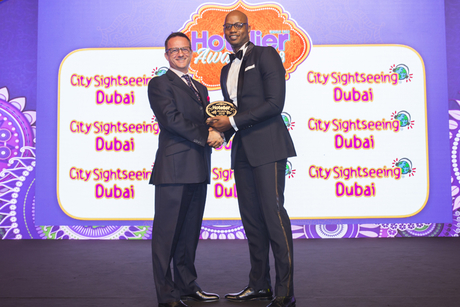 The H Dubai guest service manager wins big at Hotelier Middle East Awards