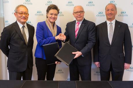 Dusit signs MoU with Ecole Hoteliere de Lausanne