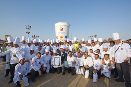 Dubai breaks another culinary Guinness World Records title