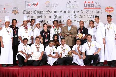 International chefs go head to head in Fujairah