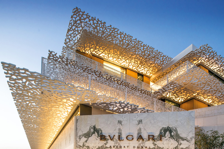 Things you didn't know about Dubai's five-star Bvlgari hotel