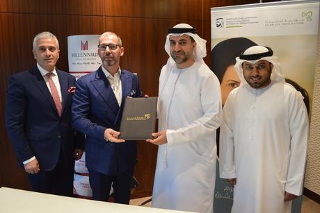 Millennium teams up with Al Jalila Foundation