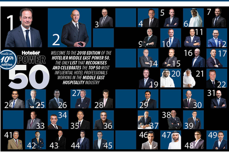 POWER 50 2018: Here are the top 10 hoteliers in the Middle East