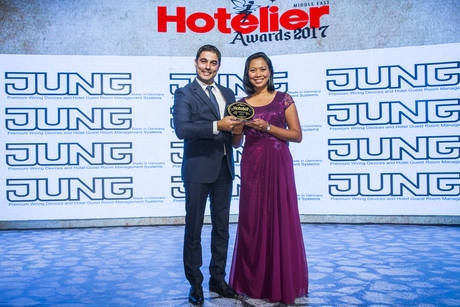InterContinental Muscat's Monterde trains for triumph at Hotelier Awards 2017