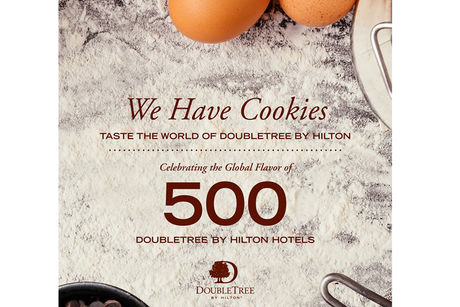 DoubleTree by Hilton serves up a cookie cookbook