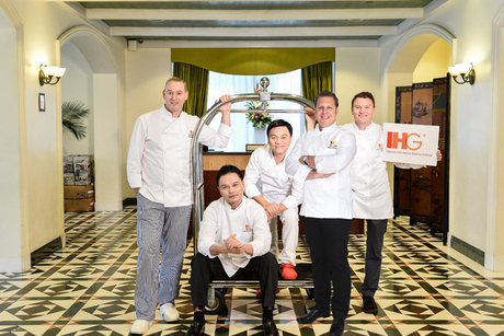 IHG assembles star chefs for signature dishes