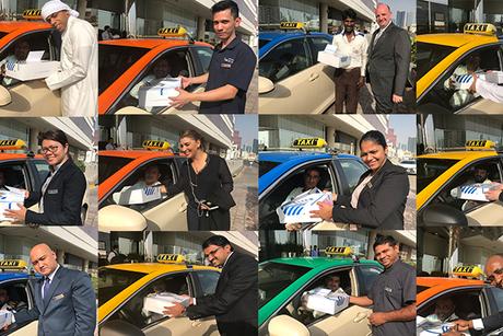 Jumeira Rotana Dubai distributes 100 charity iftar boxes