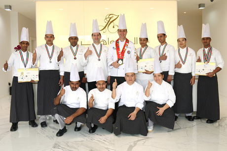 JRCC's chefs win 11 medals at Gulfood