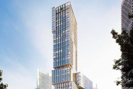 Damac and Versace possibly to develop Jenga tower