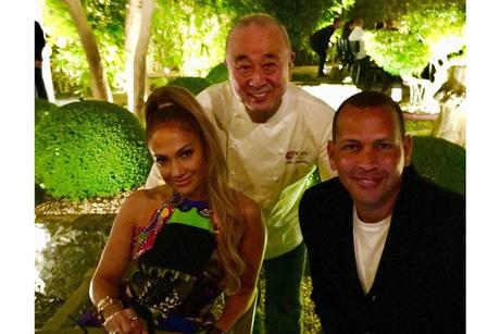 Nobu welcomes Jennifer Lopez at Atlantis, The Palm