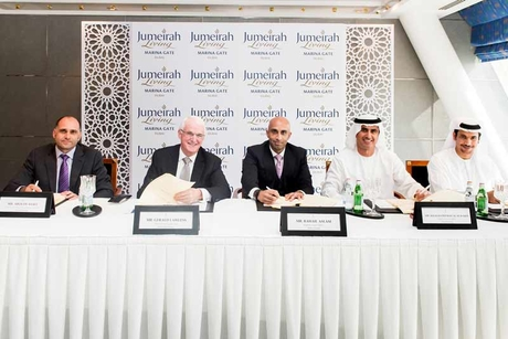 Jumeirah takes on Marina Gate for Select Group