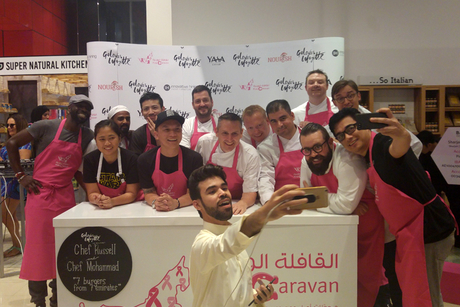 PHOTOS: Pink Bite 2017 raises more than AED100,000
