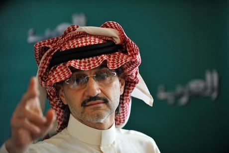Saudi Prince Alwaleed to donate US $32bn fortune
